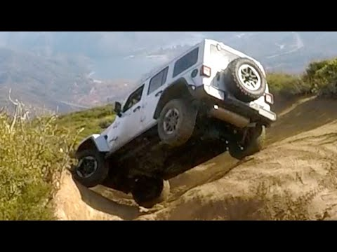 Zr2 vs Jeep Rubicon on Cleghorn Trail Skid Pro Review