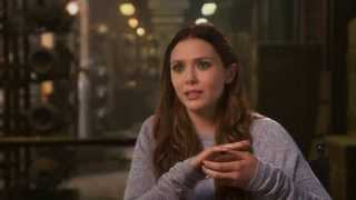 Avengers Age of Ultron Interview - Elizabeth Olsen / Scarlet Witch