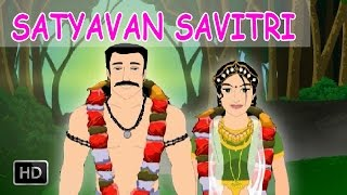 Satyavan and Savitri - Short Stories from Mahabharata - Animated Stories for Children