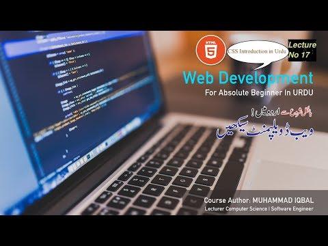 CSS Selectors | Lecture_17 | Web Tutorial in Urdu\Hindi 2020 thumbnail