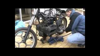 BMW k75 rebuild the zombie bike  2/?