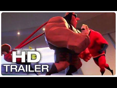 INCREDIBLES 2 Supers Vintage Fight Scene Trailer (2018) Superhero Movie Trailer HD
