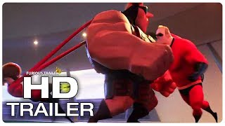 INCREDIBLES 2 Supers Vintage Fight Scene Trailer (2018) Superhero Movie Trailer HD