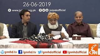 All Parties Conference Complete Speech Today | GNN | 26 June 2019