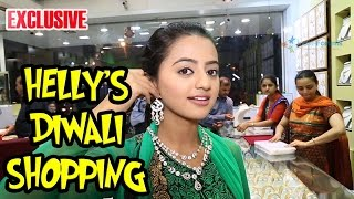 "Helly Shah does the ""Dhanteras"" shopping with India-Forums"