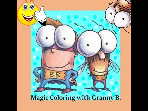 Fly Guy Magic Coloring.. by Granny B.