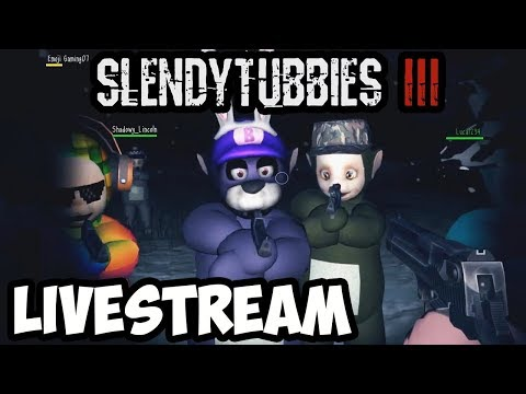 SLENDYTUBBIES 3 MULTIPLAYER SURVIVAL/INFECTED LIVESTREAM - SATURDAY 1PM EST / 10AM PST - OH YEAH!!!