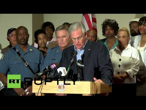 USA: Missouri Governor declares state of emergency in Ferguson