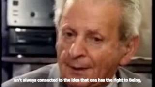 Levinas: The Right To Be (English Subtitles) Thumbnail