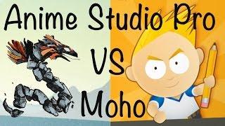 Anime Studio Pro (Moho Pro 12) - Полный обзор программы. Смена название на Moho Pro. Что случилось?