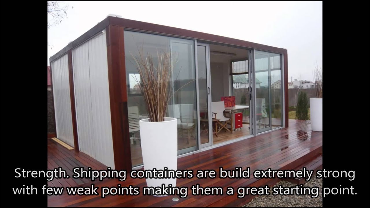 build a shipping container home - how to build a foundation for a