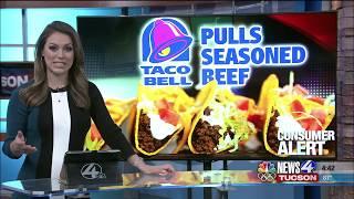 Consumer Alert: Taco Bell recalling beef
