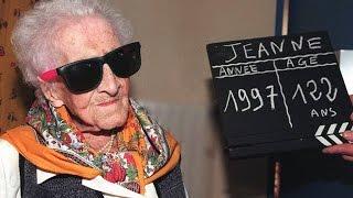 Самый старый человек в мире - долгожительница Жанна Кальман