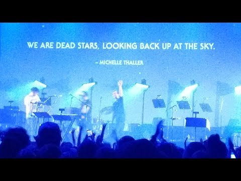 Space Oddity - Last song of last night of Planetarium tour - Sufjan Stevens at Fox 7/21/17