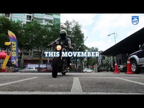 PHILIPS MOVEMBER featuring : Triumph, Harley & Ducati.. Grow a Mo', Save a Bro""