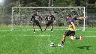 Penalty Challenge vs 2 GOALKEEPERS
