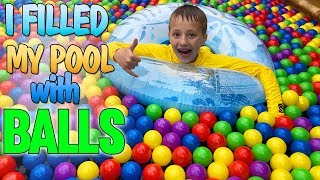 My Swimming Pool is a GIANT Ball Pit!!!