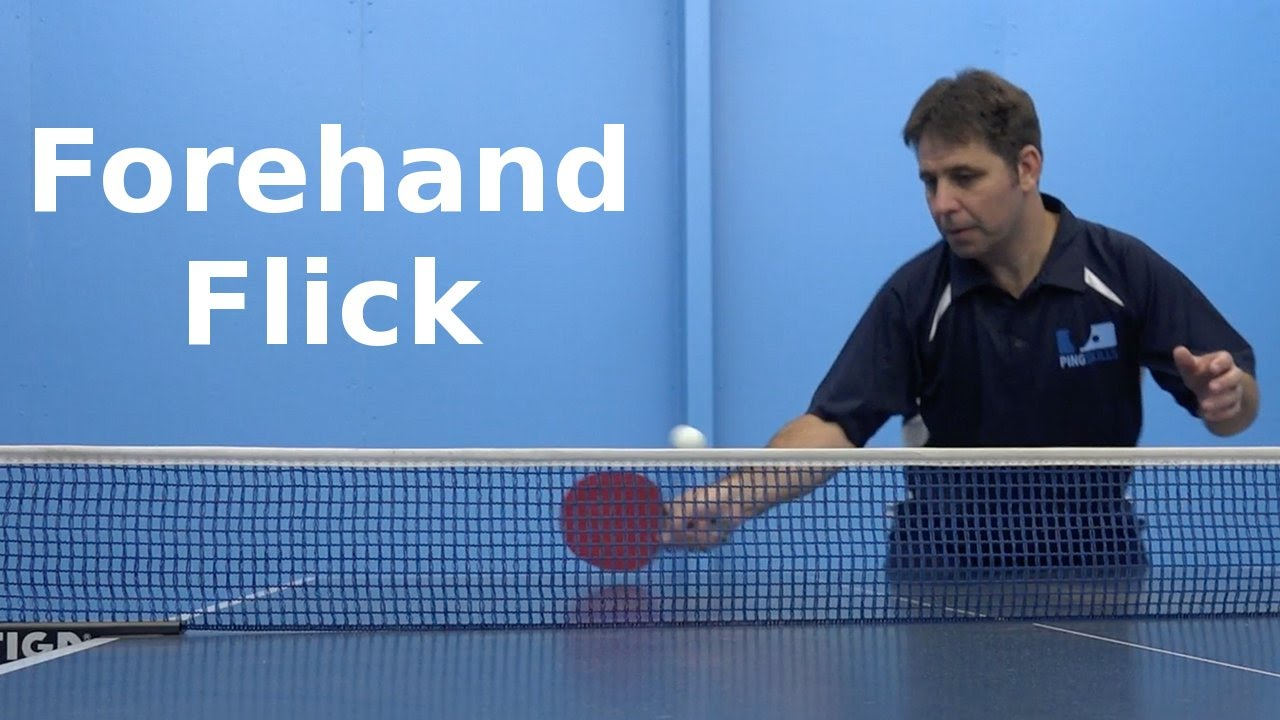 Forehand flick table tennis pingskills youtube for 10 table tennis rules