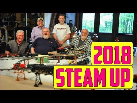 #260: Susquehanna Flyerholics 2018 American Flyer Steam-Up 2-Day Temporary Layout, Williamsport PA