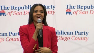 Candace Owens speaks to crowd of over 2,000 at San Diego County Republican event