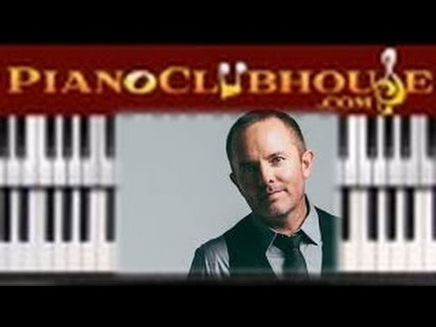 🎹  AT THE CROSS - Chris Tomlin (easy piano tutorial lesson)