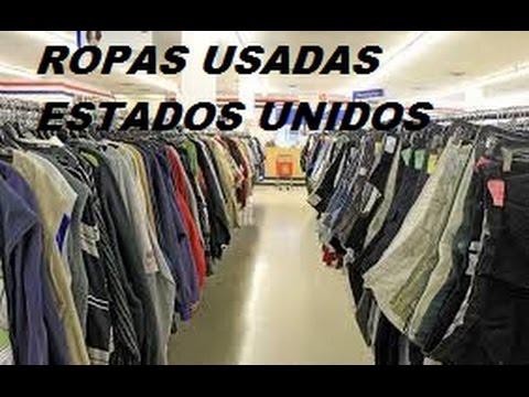 58c3dc21a45 LOJA DE ROUPAS USADAS ESTADOS UNIDOS - YouTube