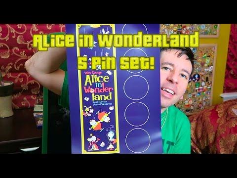 Alice in Wonderland ACME Disney Pins!