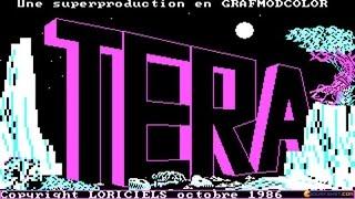 Tera gameplay (PC Game, 1986)