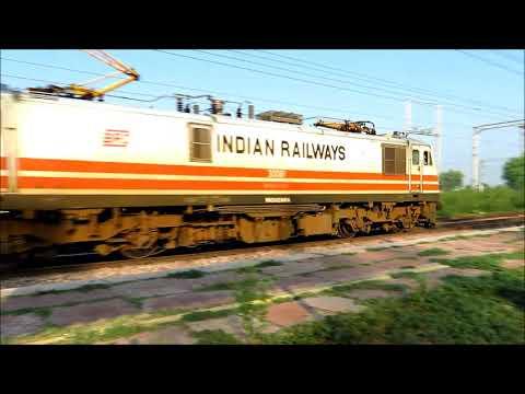 Indian Railways : Trains speeding behind Electric beasts