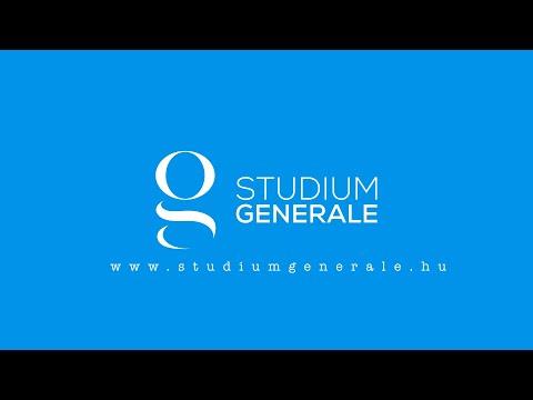 Studium Generale - Bemutatkozás - Önkéntesség, mint életérzés