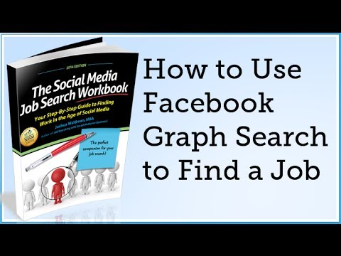 How to Use Facebook Graph Search to Find a Job