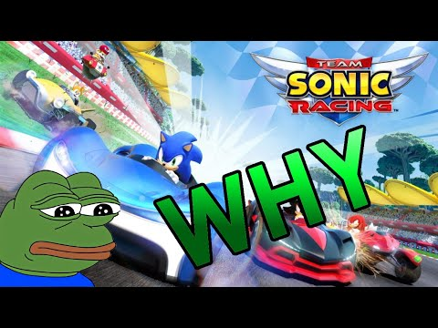 Why Team Sonic Racing Didn't Work Out |