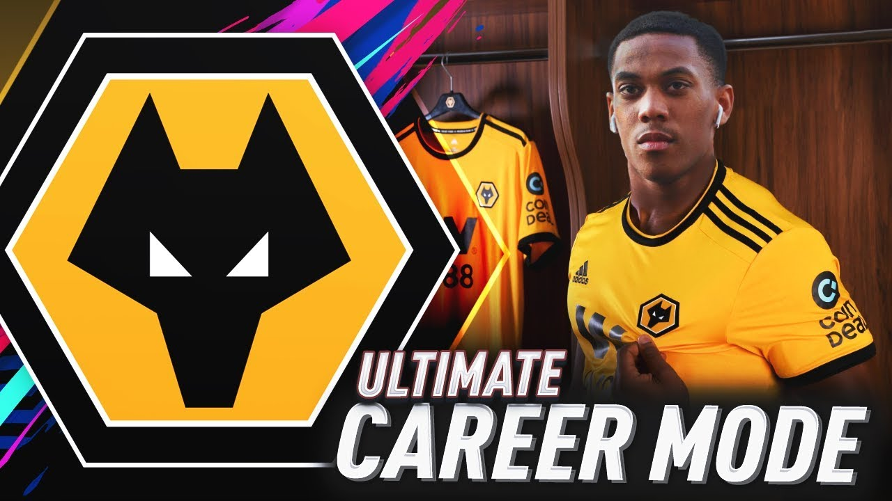 SIGNING ANTHONY MARTIAL FOR FREE!!! FIFA 19 WOLVES