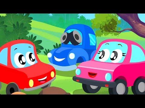 Hide And Seek | Little Red Car | Car Cartoons Videos for Kids
