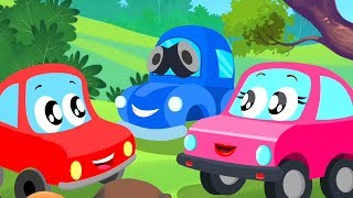 Hide And Seek | Little Red Car | Car Cartoons Videos for Kids