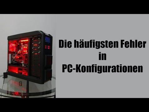 Die häufigsten Fehler in PC-Konfigurationen