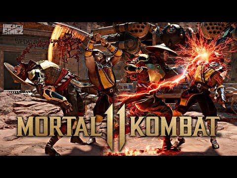 Mortal Kombat : NEW Gameplay Images Revealed!!