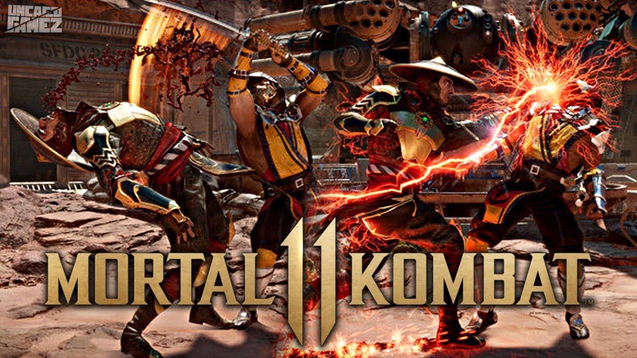 Mk11 Wallpaper: Mortal Kombat 11: NEW Gameplay Images Revealed!!