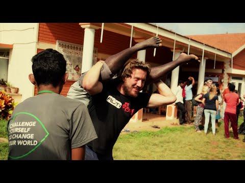 Indian village life /International Citizen Service with Raleigh international/Documentary