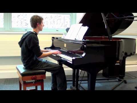 Dan Peat - Erik Satie - Gnossiene No. 1 - A Level Music Performance