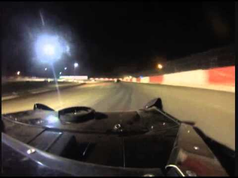 Chandler Petty on car cam Batesville Win