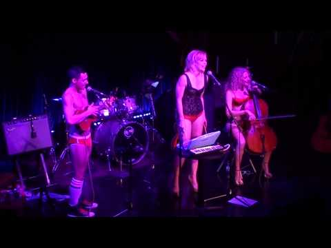 0518 The Skivvies feat. Emily Bergl  Crazy Medley live @ The Cutting Room, NYC, 111912