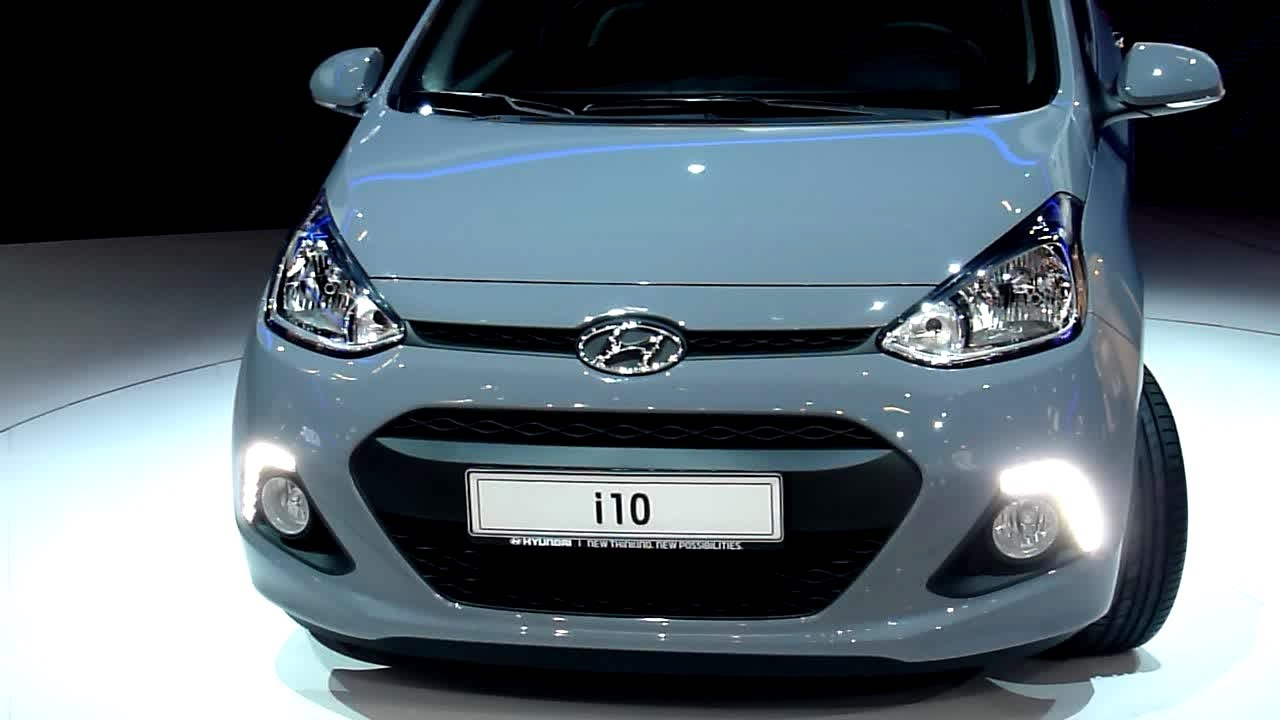 2013 hyundai i10 1 2 style exterieur interieur in detail iaa 2013 youtube. Black Bedroom Furniture Sets. Home Design Ideas
