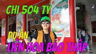 Bánh Pía Sóc Trăng chi 504 tỷ Việt Nam đồng cho dự án Liên Hoa Bảo Tháp