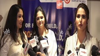 Bollywood Stars At PC Of Unicef India Child Rights | Zareen Khan | Gracy Singh | YOYO Times