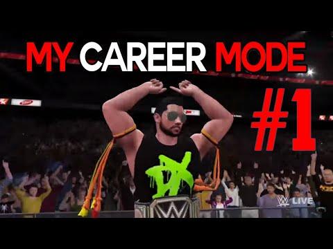 WWE 2K16 - MY CAREER MODE - THE BEGINNING - EPISODE 1