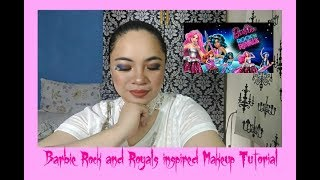 Barbie Movie: Rock n Royals inspired Makeup Tutorial | Request Video: Lara Manalang | iheartujita