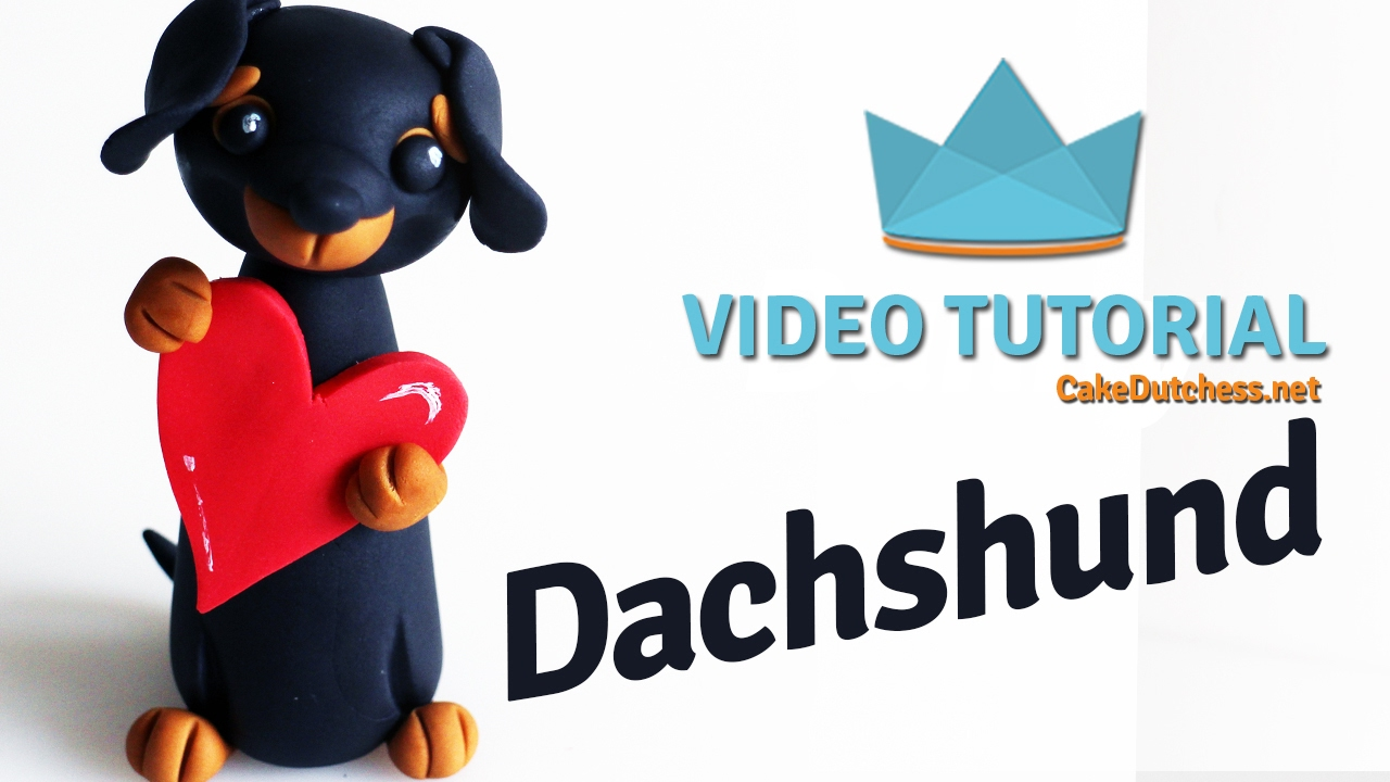 Dachshund Cakes How To Make