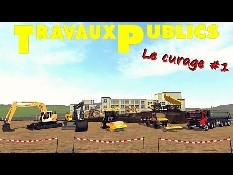 Farming Simulator 15 ✔ TRAVAUX PUBLICS 😍 Curage - Partie #1