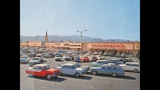 United Shoppers of America: Parking lots and stores of the mid-20th Century